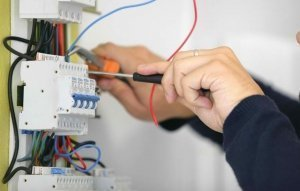 Electrical testing by one of our reliable electricians